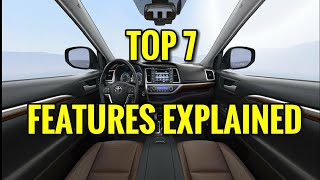 TOP 7 INTERIOR SUV FEATURES EXPLAINED - Toyota Highlander 2017 / 2018