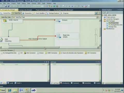 Les Nouveautés SSIS Dans SQL Server 2012 / Journées SQL Server