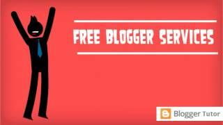 Free Blogger Customization Service