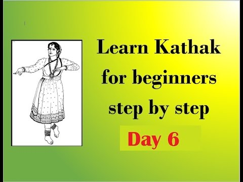 Learn Kathak step by step for beginners DAY 6