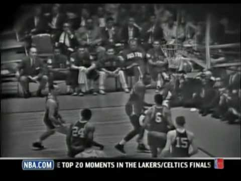 1963 NBA Finals Game 6 - Celtics vs. Lakers
