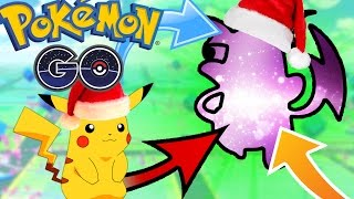 WORLD EXCLUSIVE POKEMON GO CHRISTMAS PIKACHU EVOLVES INTO ????? - New HIDDEN Pokemon!!