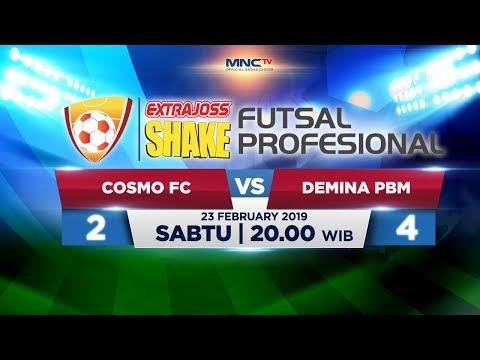 COSMO FC VS DEVINA PBM (FT: 2-4) - ExtraJoss Shake Futsal Profesional 2019