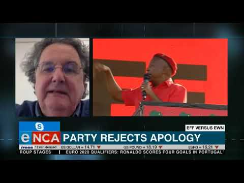 EFF rejects EWN's apology over Malema comment