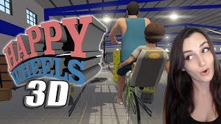 Happy Wheels 3D?! FINALLY!! | Guts and Glory (Funny Moments)