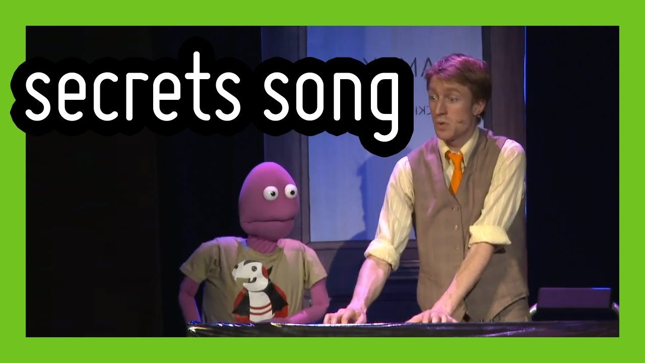 'The Keeper of Secrets' - funny live musical comedy song by Sammy J & Randy | ComComed
