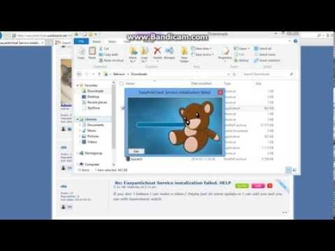 Easyanticheat problem - YouTube