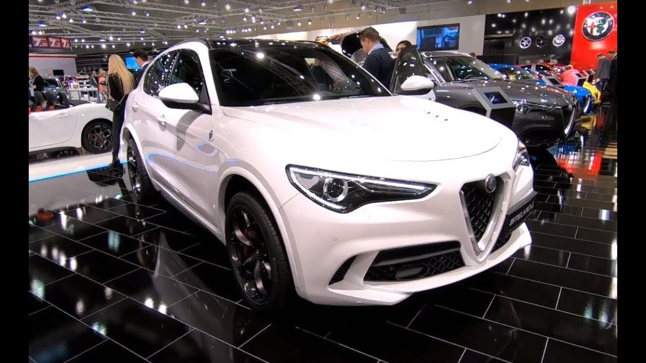 588bd2d92808 AR STELVIO QUADRIFOGLIO Q4 SPORT SUV AWD NEW MODEL 510HP WALKAROUND +  INTERIOR