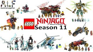 Lego Ninjago Season 11 Secrets of the forbidden Spinjitzu Compilation of all Sets