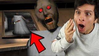 ¿¿QUÉ PASA SI COMPLETO EL CUADRO SECRETO?? DESCUBRO EL ÁTICO - Granny (Horror Game)