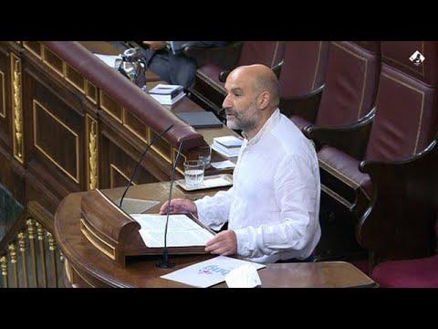 Intervención de Néstor Rego no debate sobre os fondos europeos que recibirá o Estado