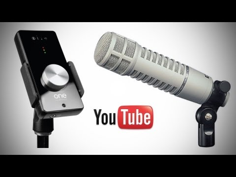 Great Audio For YouTube Videos & Podcasts (EV RE20 Mic + Apogee One)