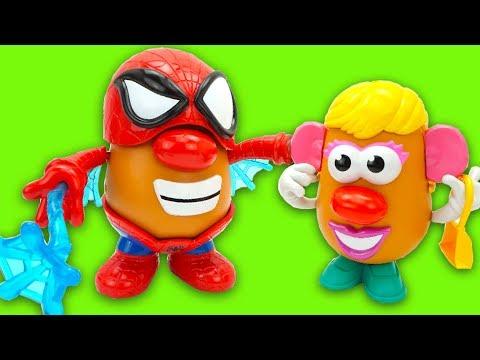 Забавная игрушка Мистер Картошка Супер Герой