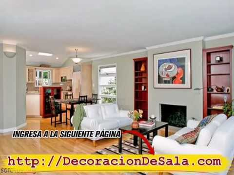 Fotos de salas decoradas modernas como decorar una sala for Decoracion salas modernas