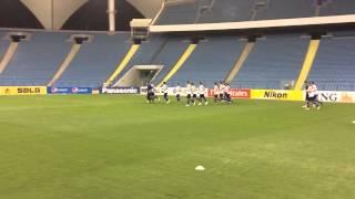"First training FC ""Bunyodkor"" in King Fahd International st"