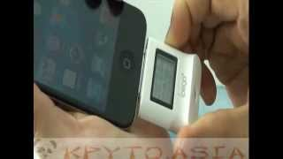 видео Мини-алкотестер для смартфонов IPEGA купить онлайн