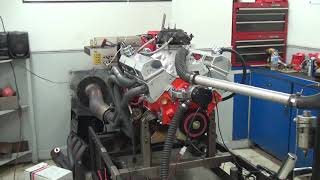 SBC 543HP 383 STROKER ENGINE DYNO RUN FOR STEVE VEAZEY BY WHITE PERFORMANCE AND MACHINE