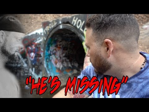 I LOST MY FRIEND IN THE HAUNTED TUNNEL (FAZE RUG TUNNEL)