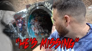 I LOST MY FRIEND IN THE HAUNTED TUNNEL (FAZE RUG TUNNEL) | OmarGoshTV