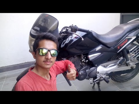 How to replace Air Filter in Bike   CBZ X-TREME....!