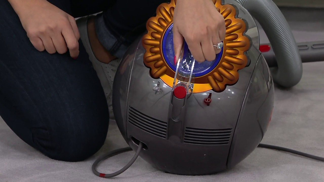 Dyson Ball Multifloor Canister Vacuum On Qvc
