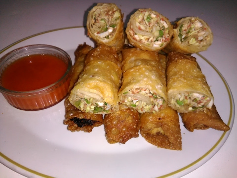 Chiken Chinese Vegetable Roll By King Chef Shahid Jutt