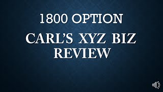1800 OPTION REVIEW - EXPOSED! 1800 0PTION TRADING SOFTWARE