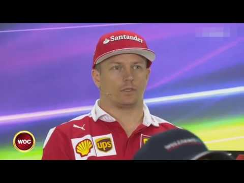 FUNNY INTERVIEW classic Kimi Raikkonen at Abu Dhabi 2016 press conference