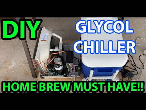 Fat Rabbit Brewing Co. DIY GLYCOL CHILLER