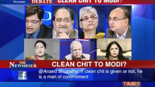 Debate: Clean chit to Narendra Modi?-2
