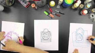 How To Draw Baby Jesus