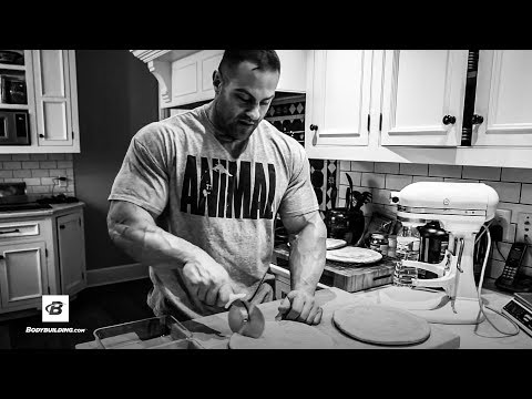 Mass Building Protein Pancake Prep with Evan 'Ox' Centopani