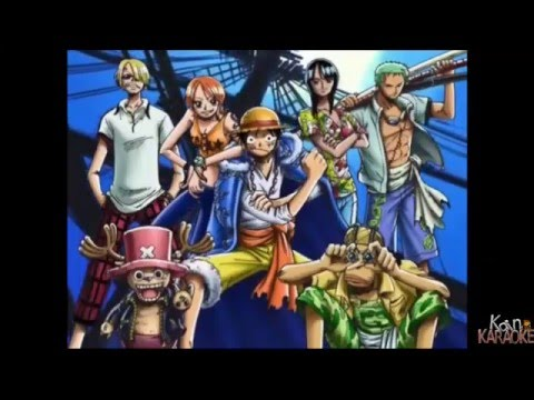 One Piece Opening 2 Ins Licht Karaoke german