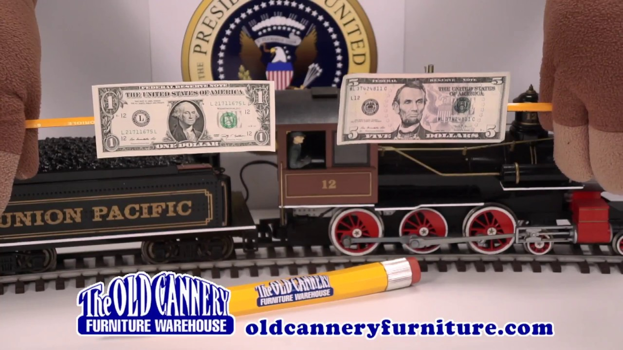 Presidents 39 Day Ad Old Cannery Furnture Youtube