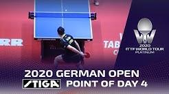 Xu Xin wins STIGA Point of Day 4 | 2020 German Open