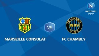 Marseille Consolat vs Chambly full match