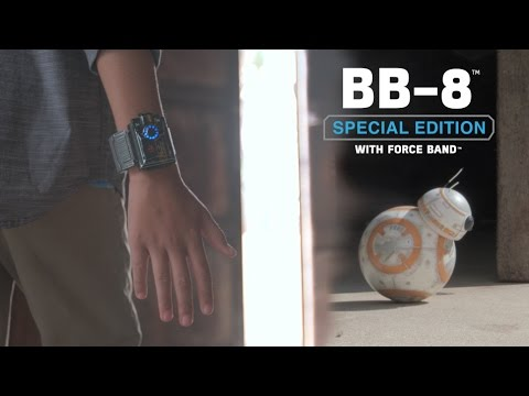 New Star Wars™ Force Band and Special Edition BB-8™ Droid by Sphero