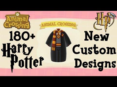 180 Harry Potter Animal Crossing New Horizons Custom Designs