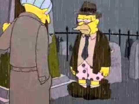Simpson, ¿no puedes pasar 5 segundos sin humillarte sólo
