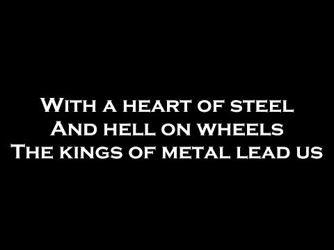 Sabaton - Man of War (Lyrics)