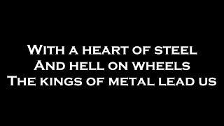 Sabaton - Man of War (Lyrics)