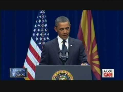 President Obama Tucson Memorial Service University of Arizona (January 12, 2011)