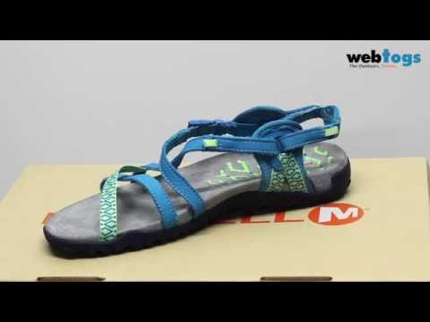 22bd07c33b45 Merrell Terran Lattice II Sandals - Vibrant Summer 2016 style with great  trail performance - YouTube