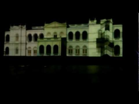 Colombo Museum Projection mapping for Vesak by Cyber Illusions Studio