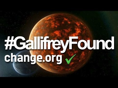"""Thousands Of """"Doctor Who"""" Fans Are Campaigning To Name A Planet """"Gallifrey"""""""