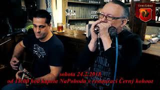 Skupina NaPohodu-Divokej tymián  24.2. 2018 v restauraci Černý kohout