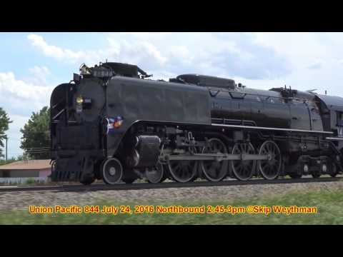 Union Pacific 844 Highball to Greeley