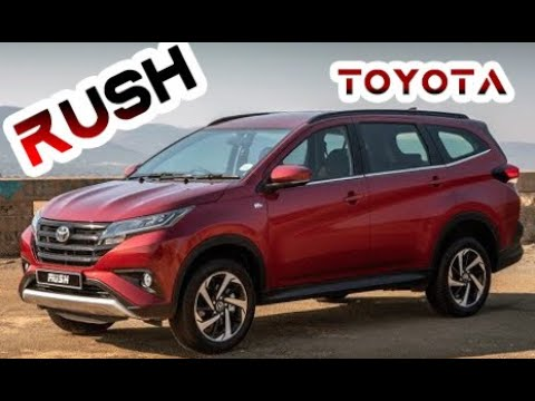 💥2019 Toyota Rush - OFF-ROAD test-drive frame 7-Seater urban SUV !!