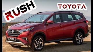 2019 Toyota Rush - OFF-ROAD test-drive frame 7-Seater urban SUV !!