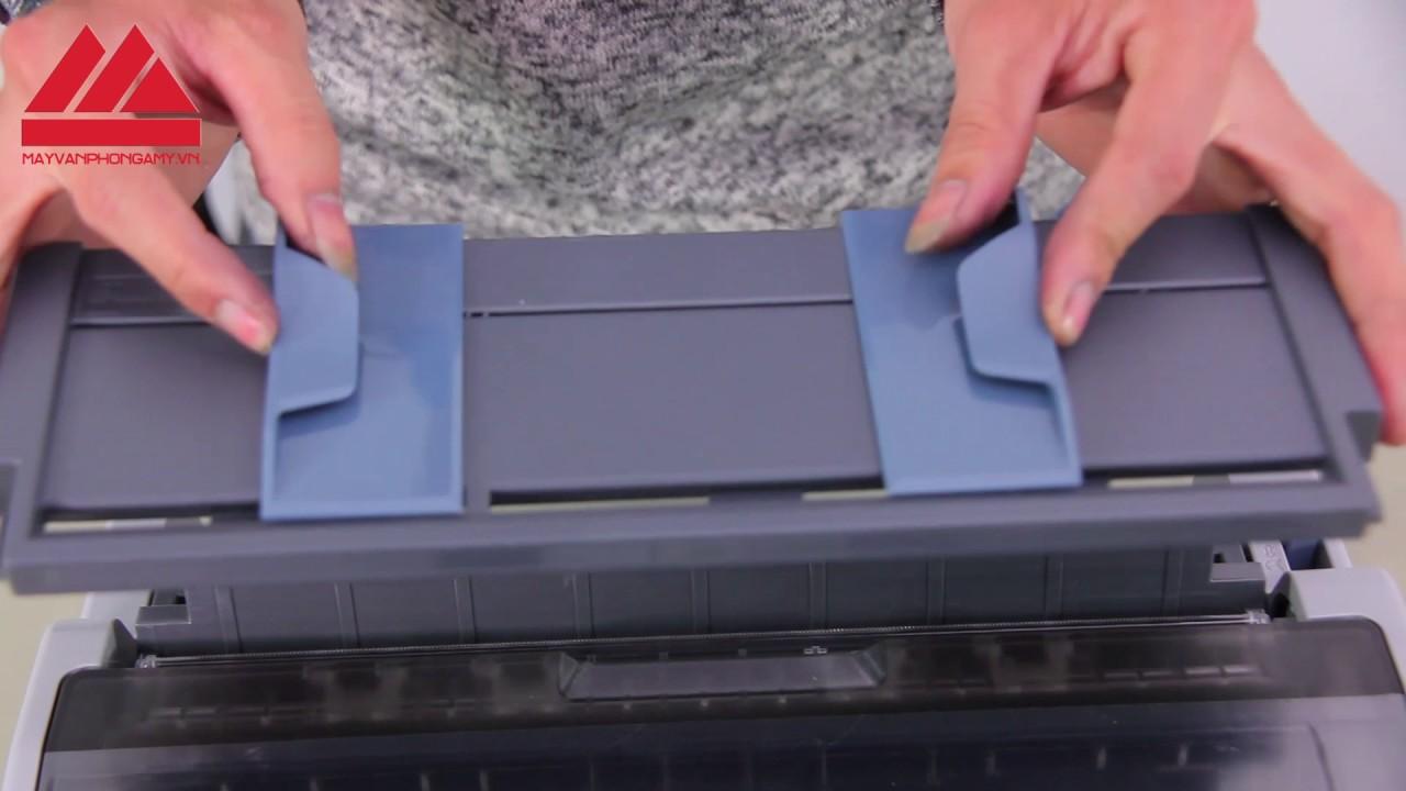 Máy in hóa đơn – Review và hướng dẫn sử dụng máy in kim Epson LQ310